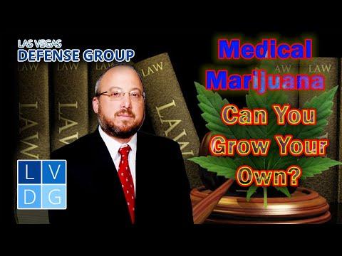 Can I grow medical marijuana in Nevada?