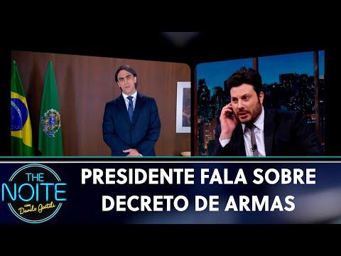 Danilo tenta falar com presidente - Ep 5  The Noite 230519