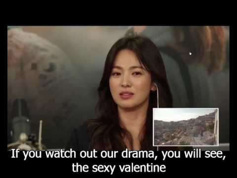 Descendant of the Sun Couple Commentary English Sub - Song Hye Kyo Jealous