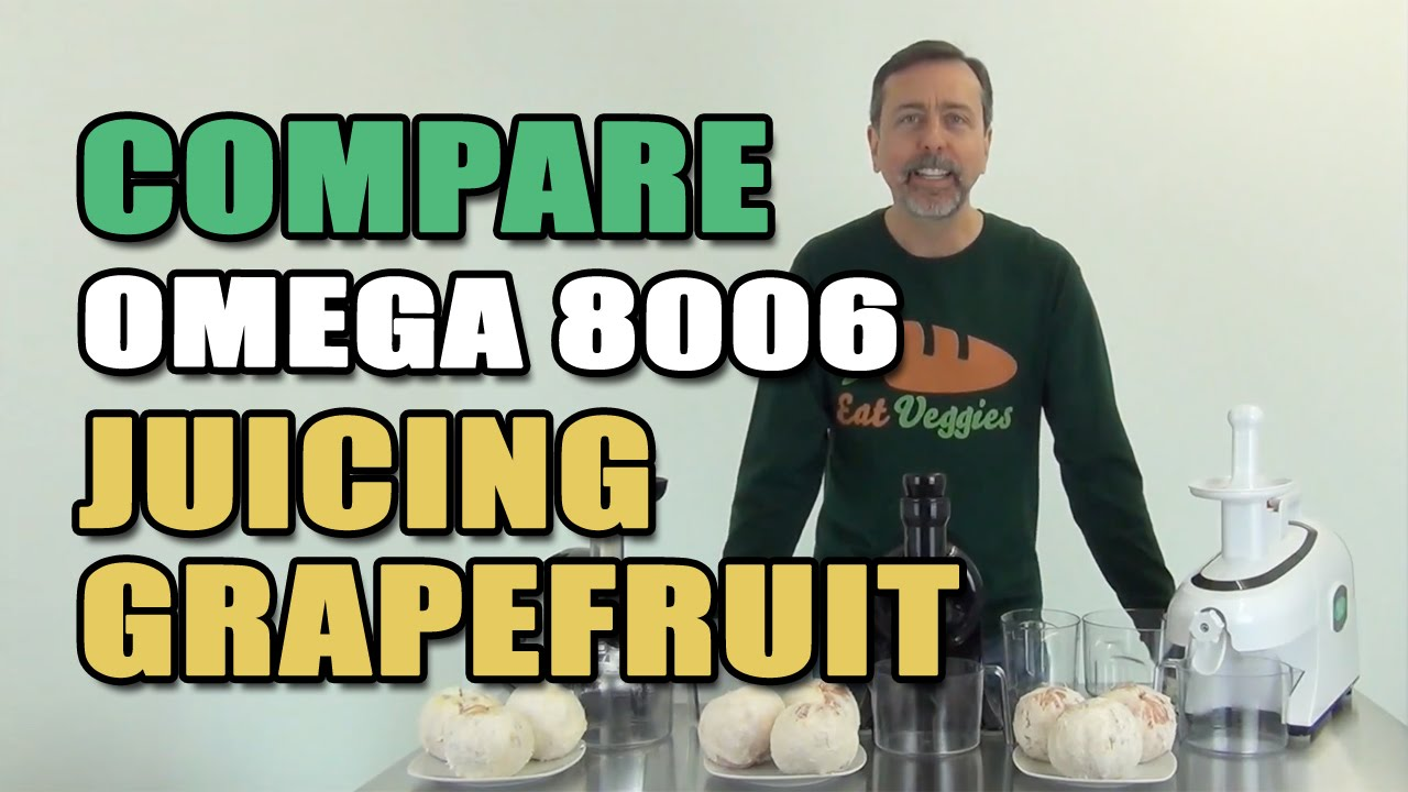 Omega NC800 HDS Review and Omega Juicer Comparison