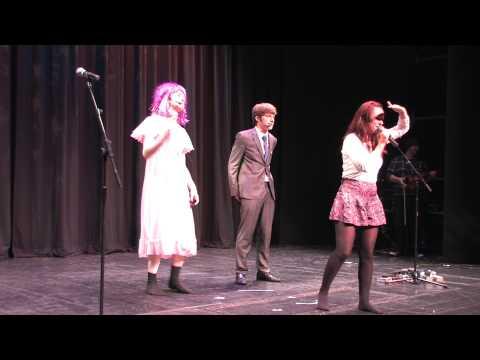 07 Manx Music and Dance Concert for Schools Part 7 GRAINNE TEACHES MANX DANCING