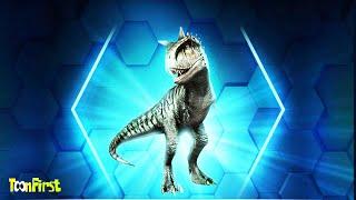 Unpacked Super Rare Dino   Weekend Battle - Jurassic World The Game