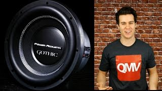 Power Acoustik Gothic Subwoofers
