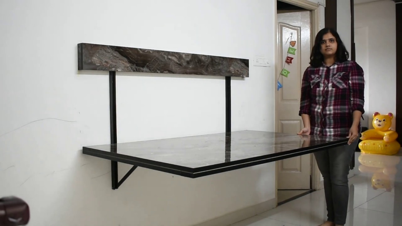 Wall Mounted Dining Table E