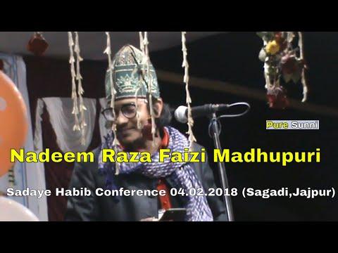 Nadeem Raza Faizi Madhupuri    New Naat Sharif 2018    हम को दीवाना बनाया Mob: +918809923727