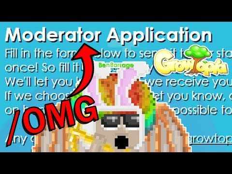 REAL MOD APPLICATION! HOW TO BECOME A MOD!?   Growtopia