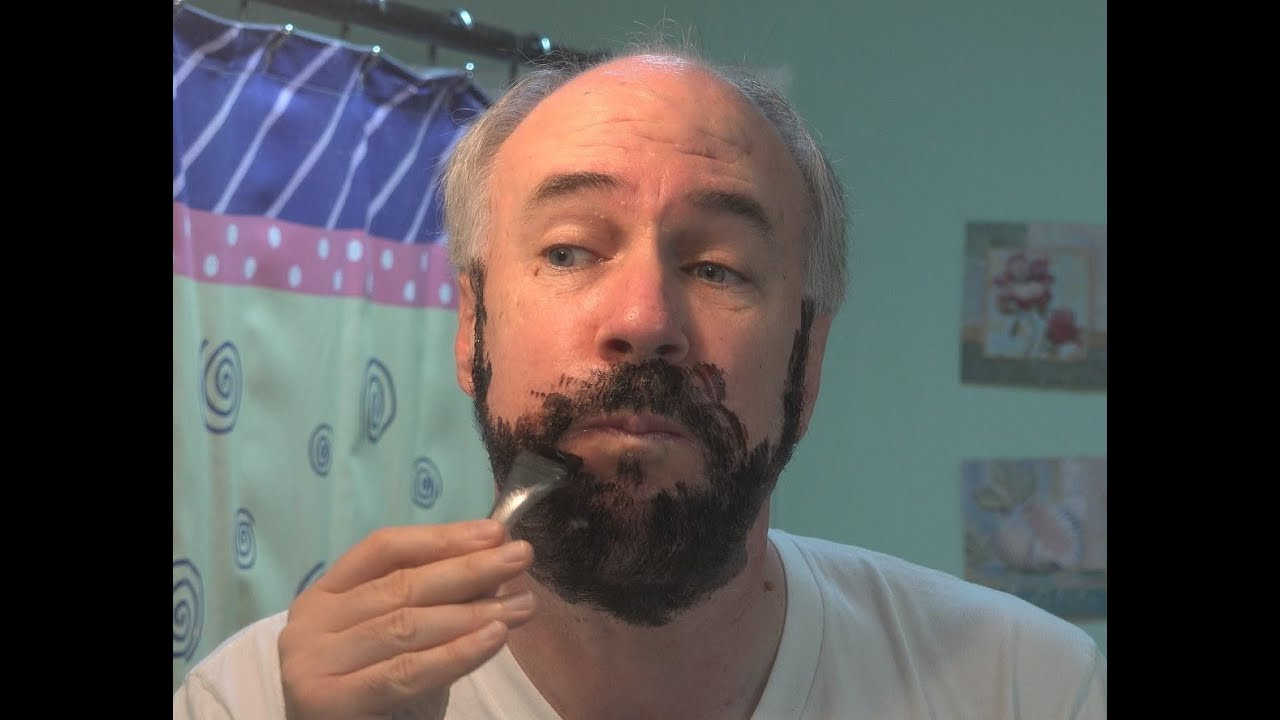 Touch of Gray- Mustache & Beard New Formula Review in 4k ...