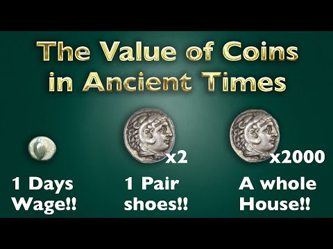 Wine and Cows: How much could an ancient silver coin buy you?