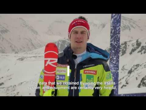 Xsens_sport diagnostic-skiing