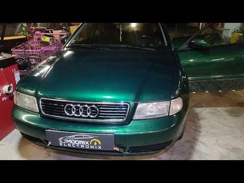 Audi A4  не работает центральный замок! Проблема решена!