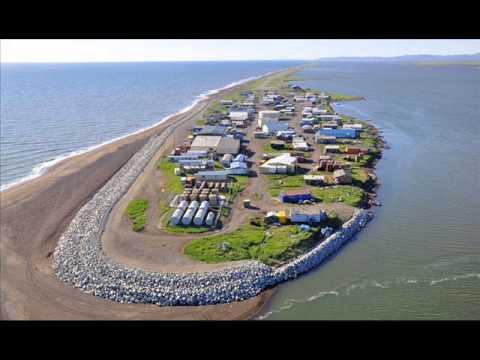 Kivalina, Alaska. Island is sinking?? No, and it's not an island (pics).