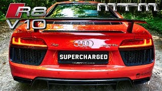 Audi R8 V10 SUPERCHARGED MTM 802HP LOUD! Exhaust SOUND & DRIVE by AutoTopNL