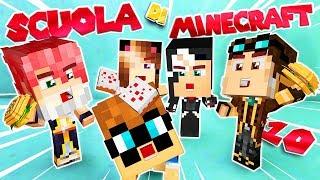 BATTAGLIA DI CIBO NELLA MENSA! - Scuola di Minecraft #10 thumbnail