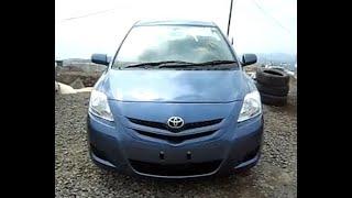 Toyota Bellta 2008 года.avi