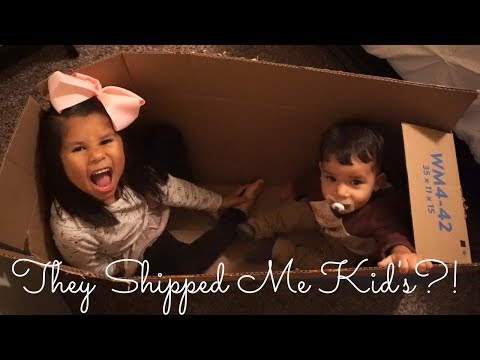 They Shipped Me Kids  Vlogmas Day 9