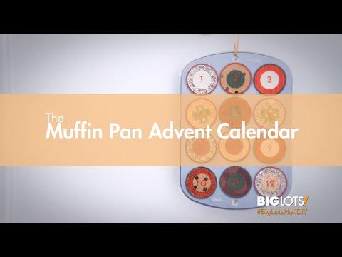 Big Lots HoliDIY - Muffin Pan Advent Calendar