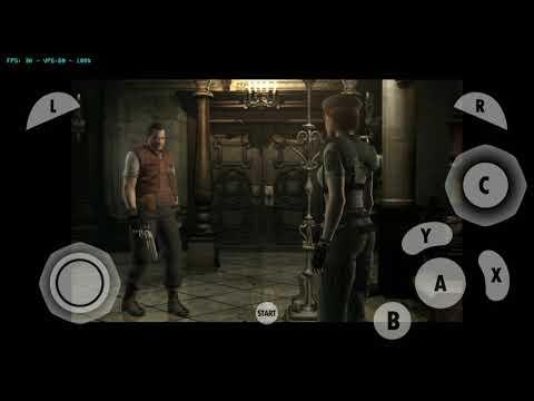 Resident Evil 1 Remake Android FULL SPEED 1080P (Dolphin Gamecube Emulator)
