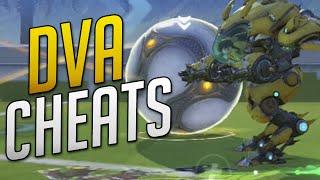 Overwatch - DVA CHEATS IN LUCIOBALL (Brawl Mode Bug)