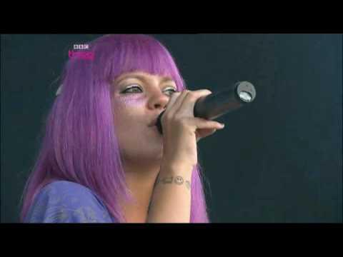 Lily Allen - The Fear Glastonbury 2009