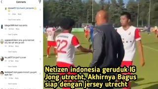 Desakan fans indonesia,  bagus kahfi segera dimainkan, membuat orang belanda jengah,akhirnya bagus