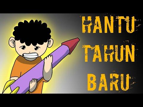 Kartun Lucu - Wowo Dan Penampakan Arwah Di Tahun Baru 2019 - Funny Cartoon - Animasi Indonesia
