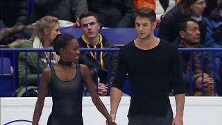 Vanessa JAMES e Morgan CIPRES Campionati Europei pattinaggio 2017 Ostrava Repubblica Ceca