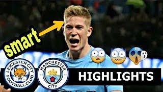 Leicester City vs Manchester City 1-1 | Highlights & Goals 18.12.2018 | COSMO SPORTS