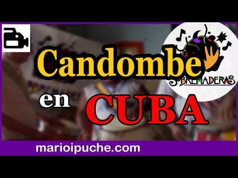 SOBREMADERAS - CANDOMBE EN CUBA