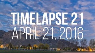 How to make a cool time-lapse with FREE software!