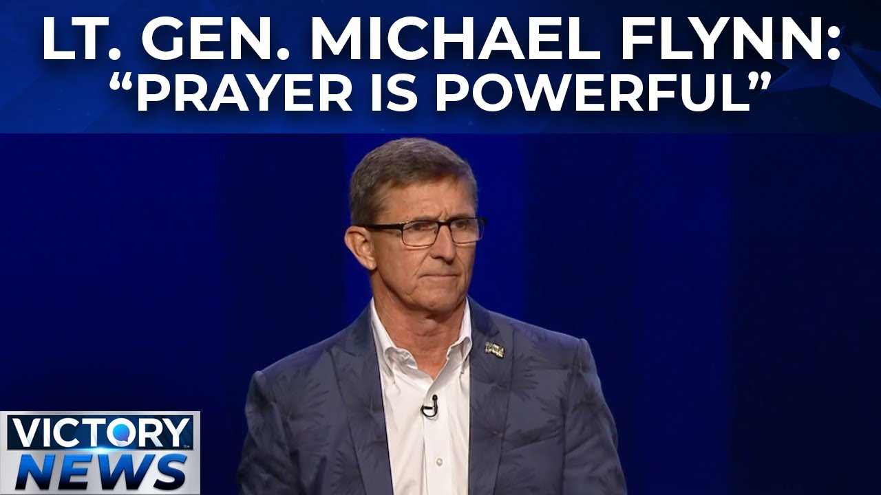 Victory News: Gen. Michael Flynn Speaks on the Nation & Prayer