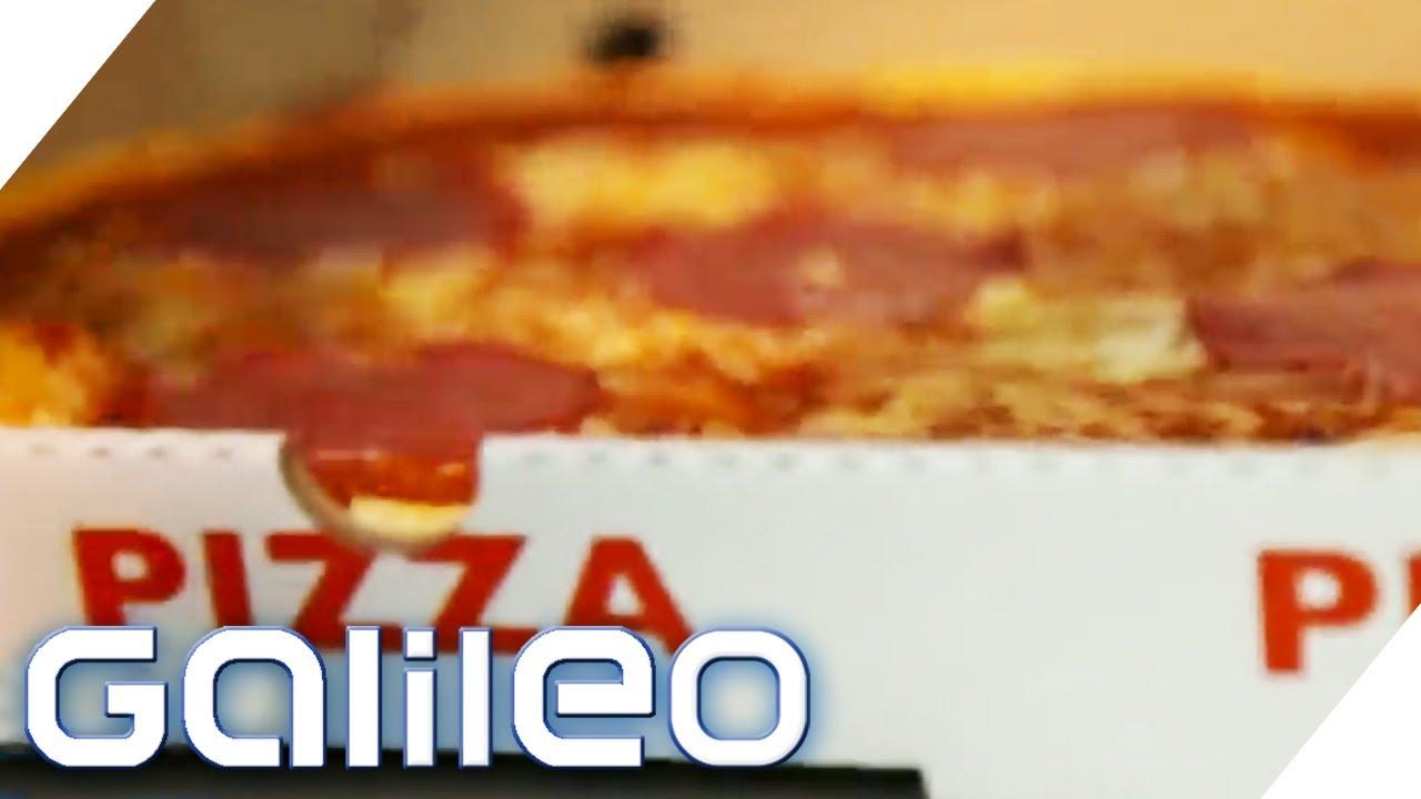 Download 20 Mio. Pizzen im Jahr - Doch wer hat den Pizzakarton erfunden? | Galileo | ProSieben