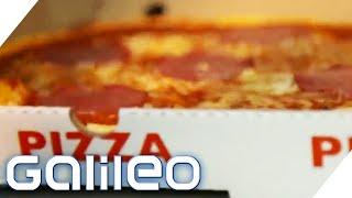 20 Mio. Pizzen im Jahr - Doch wer hat den Pizzakarton erfunden? | Galileo | ProSieben