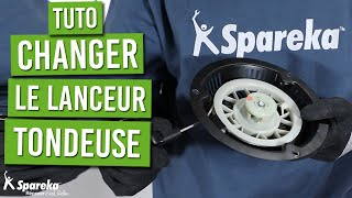 Comment changer le lanceur d'une tondeuse