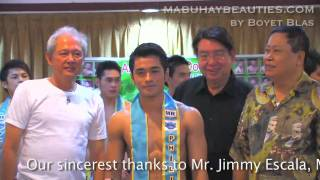 MR. GLOBE PHILIPPINES 2010 Finals: Announcement of Winners