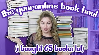 I bought 65 books in quarantine because I have a problem!!!