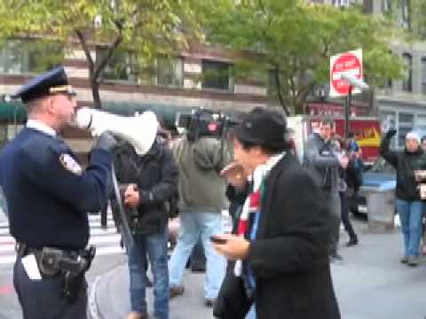 Occupy Wall Street Protesters Arrested at Goldman Sachs