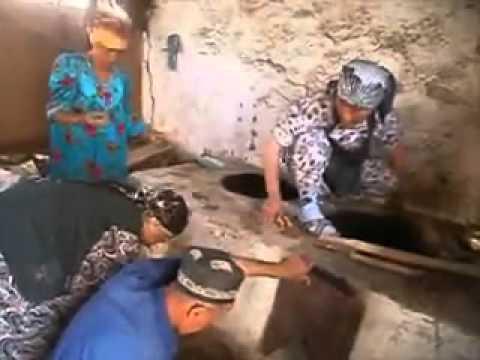 Community training on building modern fuel saving cooking stoves, Tajikistan