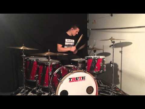 Praise Him - Aaron Gillespie: Drum Cover