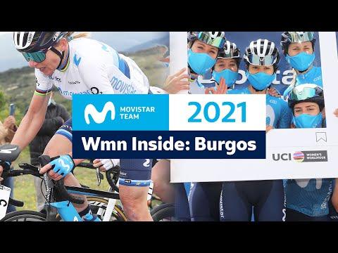 Download Inside: Women's Movistar Team - Vuelta a Burgos 2021