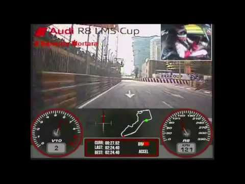 60th Macau Grand Prix - Edoardo Mortara -- Audi R8 LMS Cup 2013