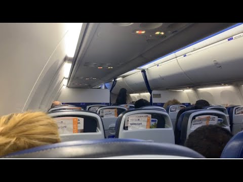 United Airlines Airbus A320 SFO To Atlanta Red Eye Flight Takeoff And Landing Vlog