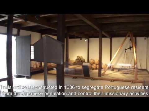 Japan Travel: Dejima Historical structures in the Sakoku era Nagasaki city, Kyushu