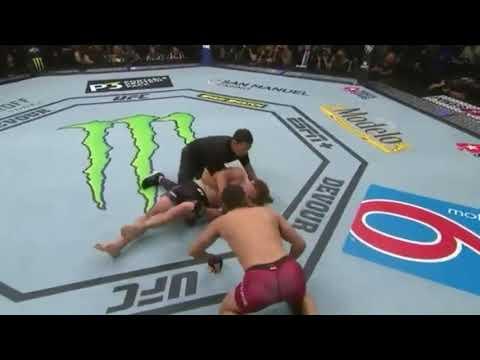 Нокаут за 5 секунд. В UFC новый рекорд