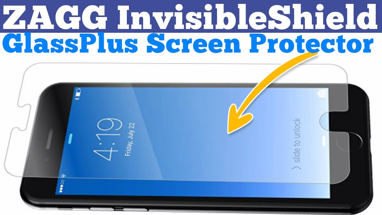 Invisibleshield Screen Protector Iphone  Plus