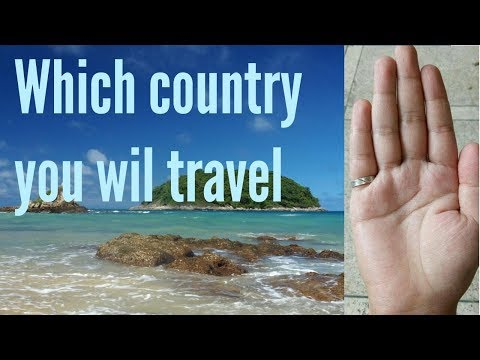 In which country you will travel | foreign travel | foreign settlement | palm reading | hastrekha