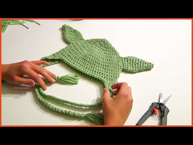 Crochet Tutorial Yoda Hat Toddler Size Yarnutopia By Nadia Fuad