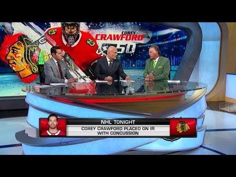 Three takeaways: Corey Crawford, Blackhawks beat Golden Knights ...
