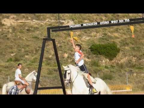 Carrera de Gallos en Nalda 2013