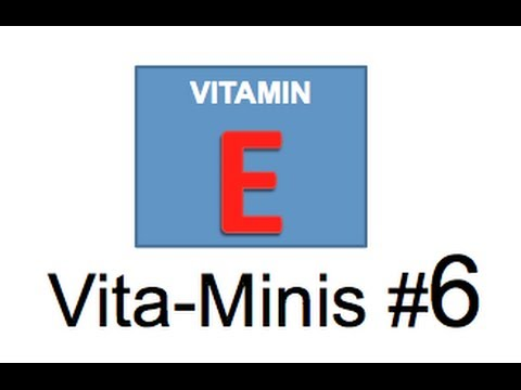 Vitamins for Kids Vitamin E