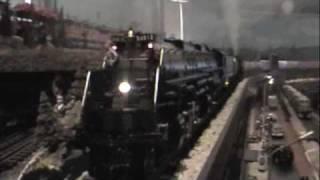 mth trains the yellowstone big boy class